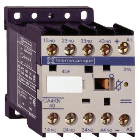 Miniaturowy stycznik pomocniczy TeSys K 3NO 1NC cewka 24VDC zaciski skrzynkowe