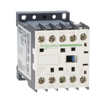 Miniaturowy stycznik pomocniczy TeSys K 3NO 1NC cewka 24VAC zaciski skrzynkowe