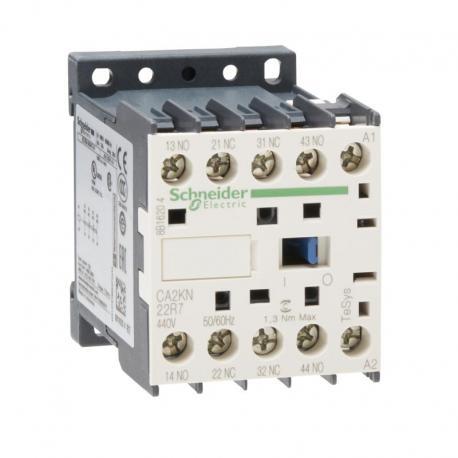 Miniaturowy stycznik pomocniczy TeSys K 2NO 2NC cewka 440VAC zaciski skrzynkowe