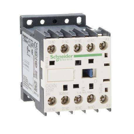 Miniaturowy stycznik pomocniczy TeSys K 2NO 2NC cewka 24VAC zaciski skrzynkowe