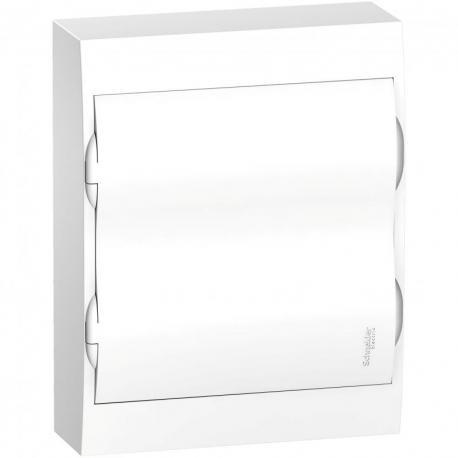 Obudowa natynkowa IP40 EZ9E-2-12-NT-P drzwi białe 2 rzędy 12 modułów/rząd