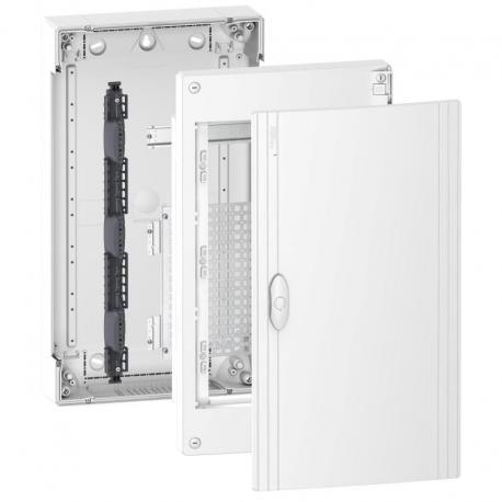 Pragma obudowa natynkowa Universal- IP40 - 3 x 13 modułów - zwykłe drzwi