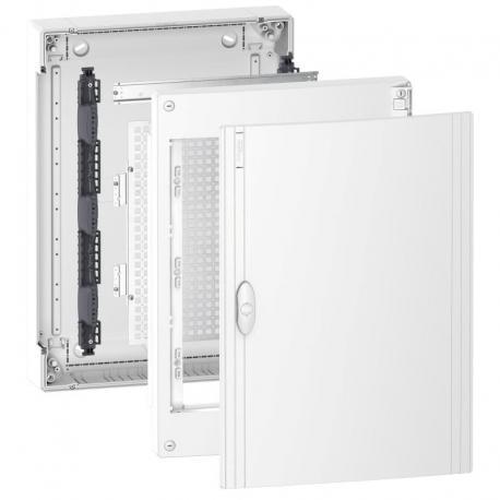 Pragma obudowa natynkowa Universal - IP40 - 3 x 18 modułów - zwykłe drzwi