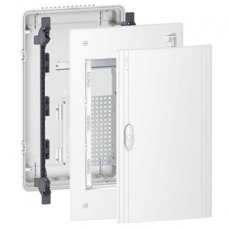 Pragma obudowa podtynkowa Universal - IP40 - 3 x 18 modułów - zwykłe drzwi