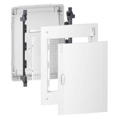 Pragma obudowa podtynkowa Universal - IP40 - 3 x 13 modułów - zwykłe drzwi