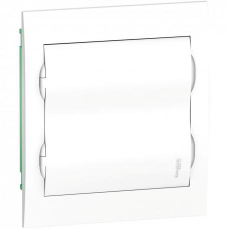 Obudowa podtynkowa IP40 EZ9E-2-12-PT-P drzwi białe 2 rzędy 12 modułów/rząd