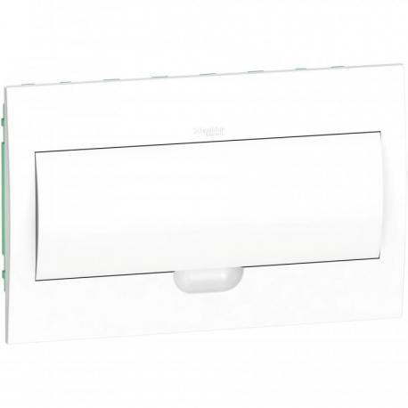 Obudowa podtynkowa IP40 EZ9E-1-18-PT-P drzwi białe 1 rząd 18 modułów/rząd