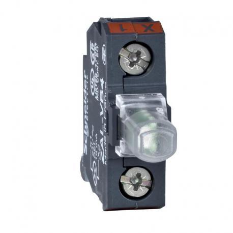 Zestaw świetlny ze zintegrowaną diodą 22 zielony LED 24V