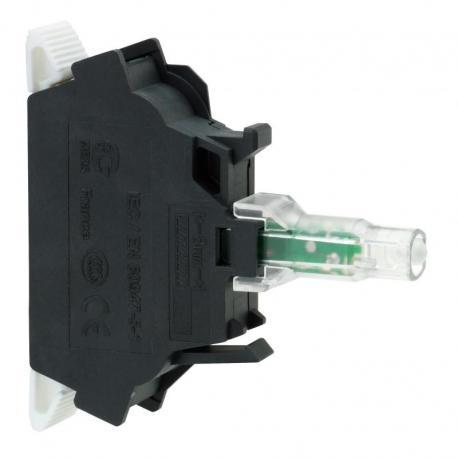 Zestaw świetlny 22 zielony LED 24V standardowy zaciski śrubowe