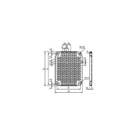 Płyta montażowa Telequick 800x 1000mm