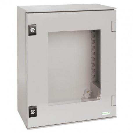 Obudowa wisząca 530x430x200 drzwi przezroczyste