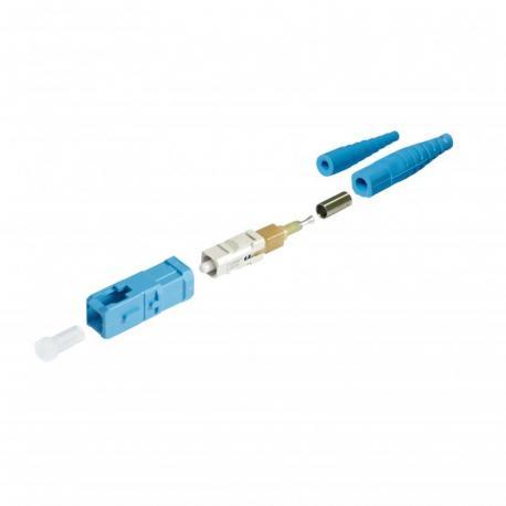 Złącze światłowodowe UNICAM, wielomodowe, OS1/OS2, 9/125 µm, LC
