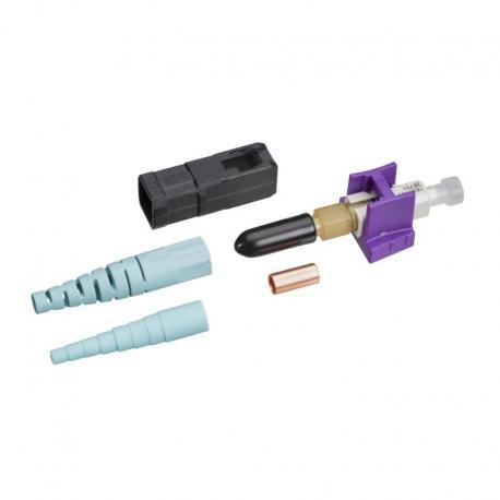 Złącze światłowodowe UNICAM, wielomodowe, OM3/OM4, 50/125 µm, SC
