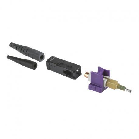 Złącze światłowodowe UNICAM, wielomodowe, OM3/OM4, 50/125 µm, LC