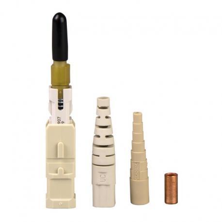 Złącze światłowodowe UNICAM, wielomodowe, OM1, 62,5/125 µm, SC