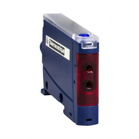 Czujnik fotoelektr. - wzmacn. światłowodowy - NO/NZ programowalne - złącze M8