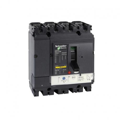 Wyłącznik Compact NSX100B TMD 40A 4P 3D