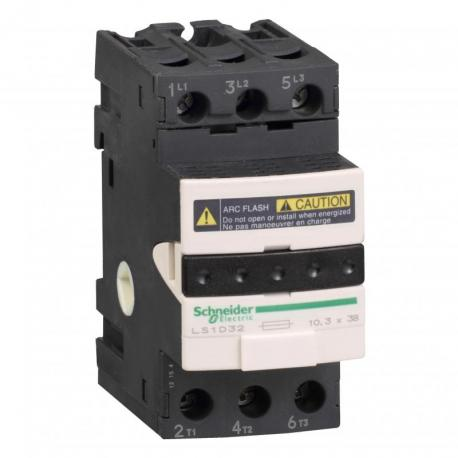 Rozłącznik bezpiecznikowy bezpiecznik 10x38mm 32A 3P