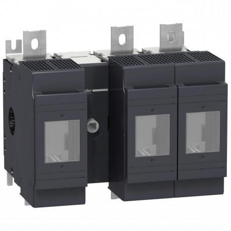 Podstawa rozłącznika bezpiecznikowego INFD DIN 800A 3P 3F uchwyt przedni