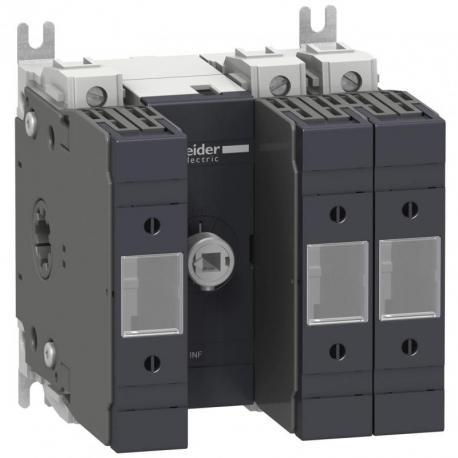Podstawa rozłącznika bezpiecznikowego INFD DIN 63A 3P 3F uchwyt przedni