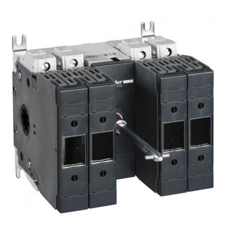 Podstawa rozłącznika bezpiecznikowego INFD DIN 40A 4P 3F uchwyt przedni