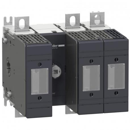 Podstawa rozłącznika bezpiecznikowego INFD DIN 160A 3P 3F uchwyt przedni