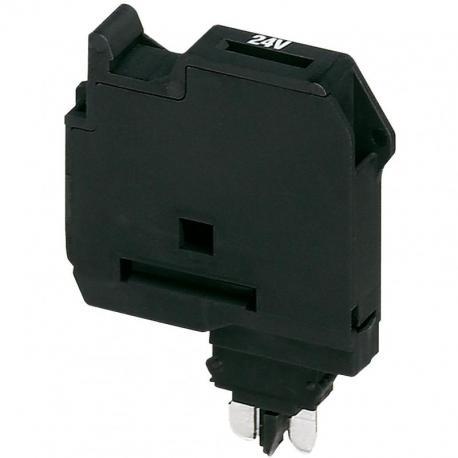 Podstawa bezpiecznikowa dla 5x20mm szerokość 6,2mm
