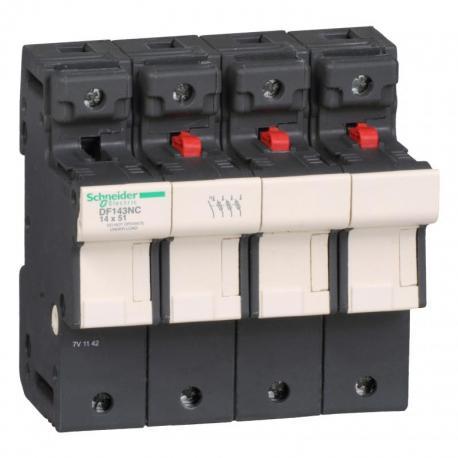 Podstawa bezpiecznika 14x51mm 50A 3P+N