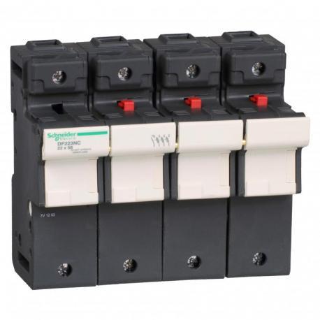 Odłącznik bezpiecznikowy 22x58mm 125A 3P+N