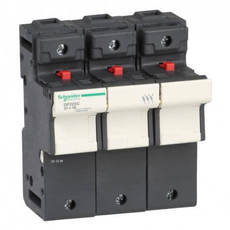 Odłącznik bezpiecznikowy 22x58mm 125A 3P
