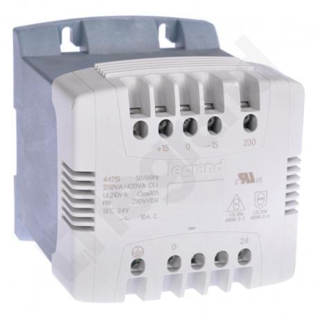 Transformator z filtrem 230-24 V 250 VA