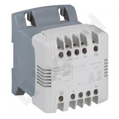 Transformator z filtrem 230-24 V 160 VA