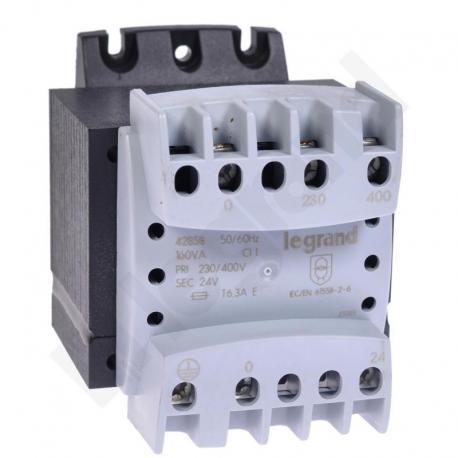 Transformator 230-400/24 V 160 VA