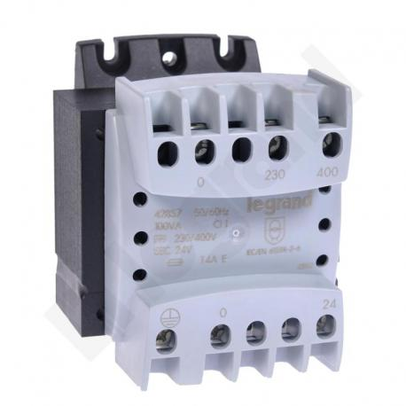 Transformator 230-400/24 V 100 VA