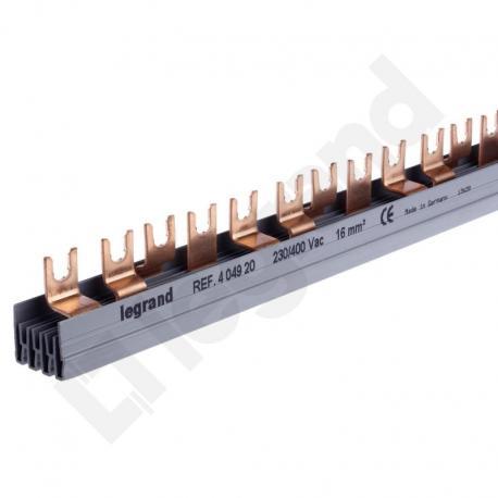 Szyny łączeniowe 16 mm2 - BI4-16-56 grzebieniowe