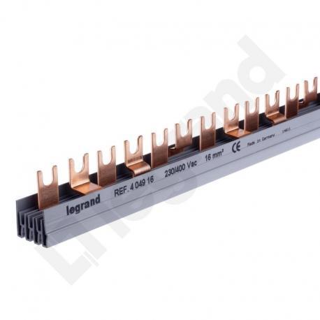 Szyny łączeniowe 16 mm2 - BI2-16-56Z grzebieniowe
