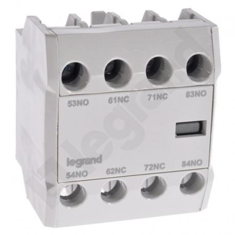 Styki pomocnicze front CTX3 3P (9-150A) / 4P (40-135A) 2NO2NC