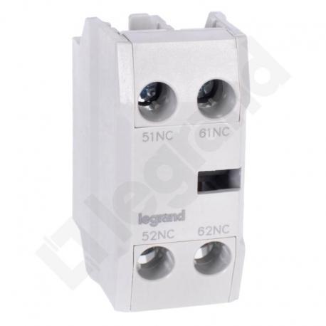 Styki pomocnicze front CTX3 3P (9-150A) / 4P (40-135A) 2NC