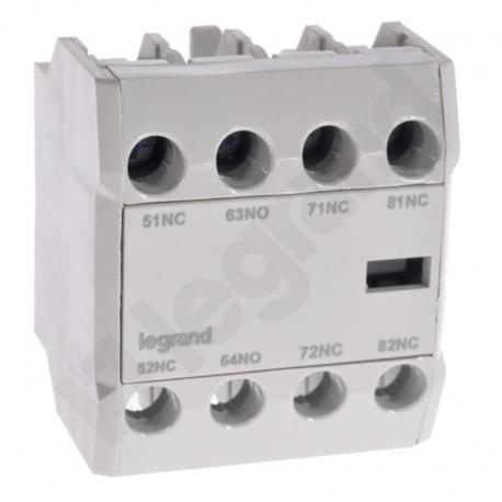 Styki pomocnicze front CTX3 3P (9-150A) / 4P (40-135A) 1NO3NC