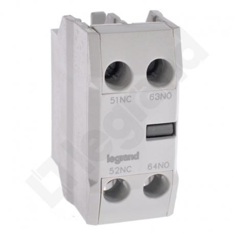 Styki pomocnicze front CTX3 3P (9-150A) / 4P (40-135A) 1NO1NC