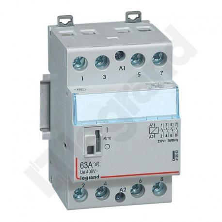 Stycznik modułowy SM 363 63A 230V 4NO cichy