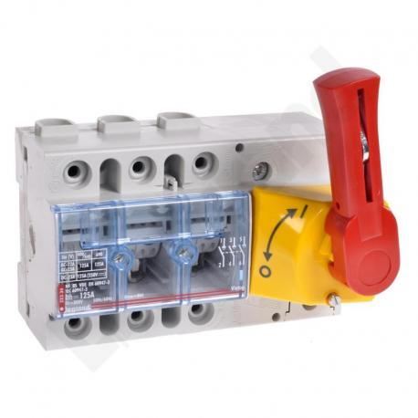 Rozłącznik VISTOP 125 A 3P ST. czerwony