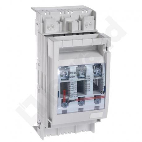 Rozłącznik bezpiecznikowy NH SPX 000 125 A 60 mm