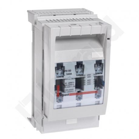 Rozłącznik bezpiecznikowy NH SPX 00 160 A 60 mm