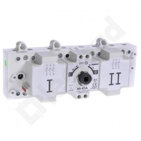 Przełącznik zasilania DCX-M 63 A 3P