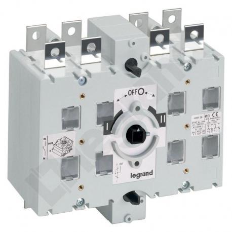 Przełącznik zasilania DCX-M 250 A 3P+N