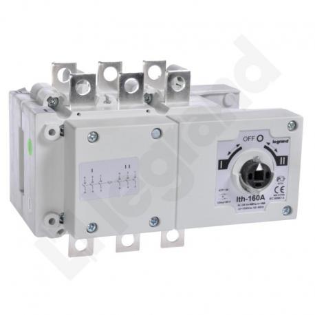Przełącznik zasilania DCX-M 160 A 3P