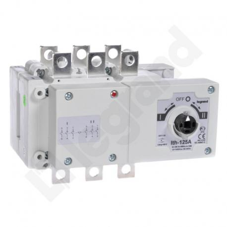 Przełącznik zasilania DCX-M 125 A 3P