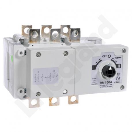 Przełącznik zasilania DCX-M 100 A 3P