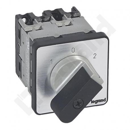 Przełącznik krzywkowy 0-1-2 PR12 16 A 2P